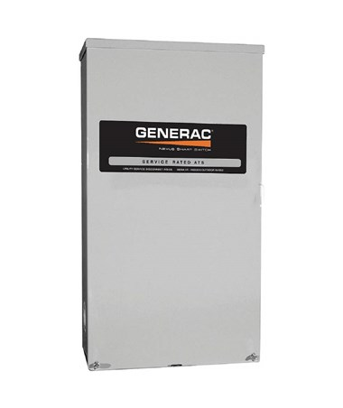 Generac 150 Amps 120/240V Service Rated Automatic Smart Transfer Switch GENRXSW150A3