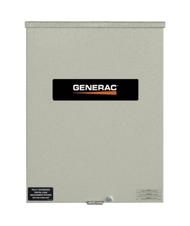 Generac 200 Amps 120/240V Service Rated Automatic Smart Transfer Switch GENRXSW200A3