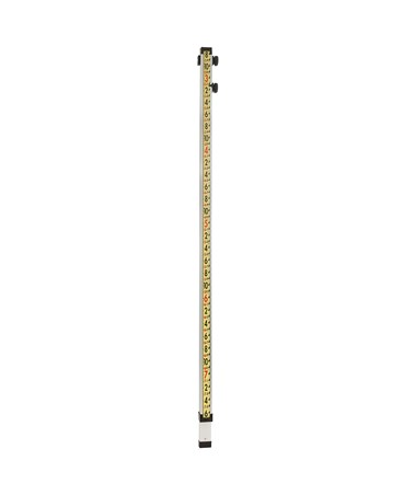 LaserLine 10' Direct Reading Optical Grade Rod, Feet/Inches GR10I