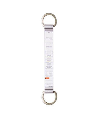 "Guardian Fall Protection 18"" Double D-Ring Ridge-It Anchor"