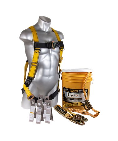 Guardian Fall Protection Bucket of Safe-Tie Safety Kit GUA00810-