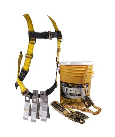 Guardian Fall Protection Safe-Tie Roofing Safety Kit GUA00810-