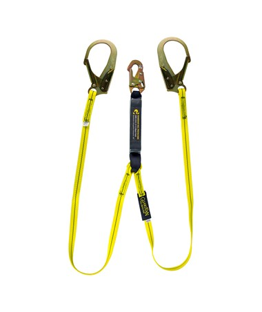 Guardian Fall Protection External Shock Pack Lanyard 01218