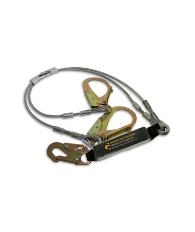 Guardian Fall Protection Cable Lanyard 01243