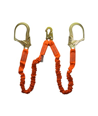 Guardian Fall Protection Bungee Style Shock Absorbing Stretch Lanyard 01298