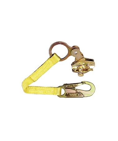 "Guardian Fall Protection Rope Grab With 18"" Extension Lanyard"