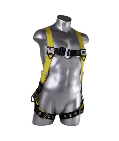 Guardian Fall Protection Velocity Surfacetech Harness with Side D-Rings