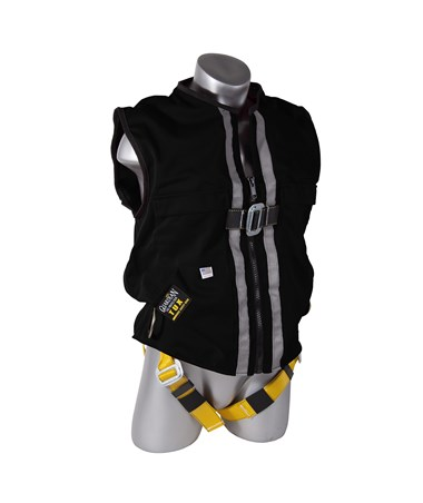 Guardian Fall Protection Construction Tux Harness Black Mesh