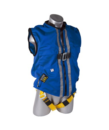 Guardian Fall Protection Construction Tux Harness Blue Duck