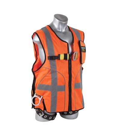 Guardian Fall Protection Deluxe Construction Tux Harness GUA02150- front