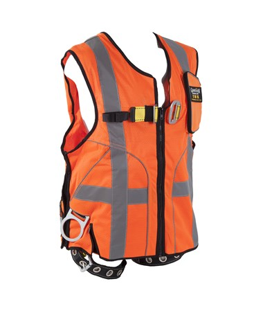 Guardian Fall Protection Deluxe Construction Tux Harness GUA02150-
