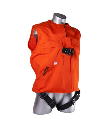 Guardian Fall Protection Flame Retardant Construction Tux Harness GUA02500-