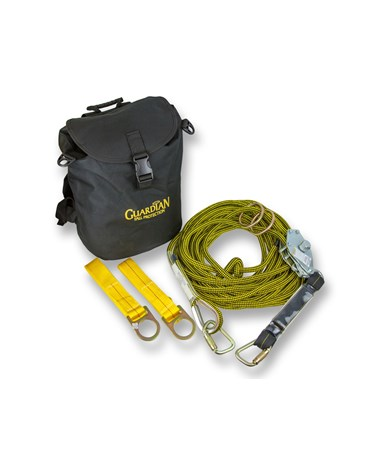 Guardian Fall Protection Kernmantle Horizontal Lifeline with Tensioner GUA04638-