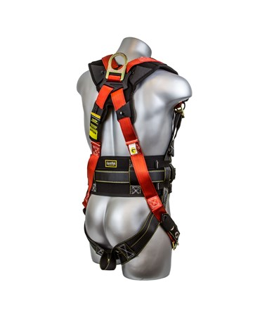 Guardian Fall Protection Seraph Construction Harness GUA11170- back