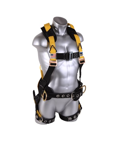 Guardian Fall Protection M-L Seraph Surfacetech Construction Harness GUA11177 front