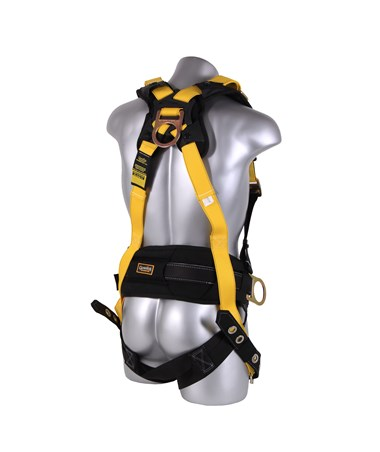 Guardian Fall Protection M-L Seraph Surfacetech Construction Harness GUA11177 back