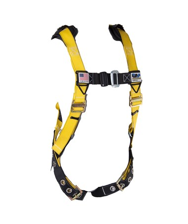 Guardian Fall Protection M-L Seraph Harness with Surfacetech Webbing