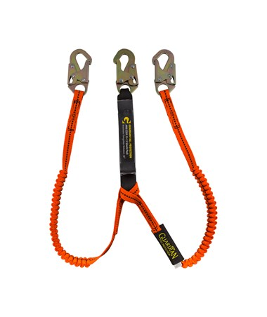 Guardian Fall Protection Bungee Style Tiger Tail Stretch Lanyard GUA11901