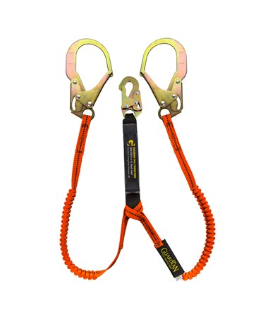 Guardian Fall Protection Bungee Style Tiger Tail Stretch Lanyard 11903