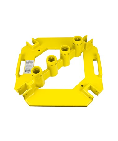 Guardian Fall Protection QuickSet Multi-Directional Baseplate