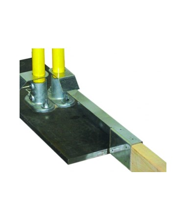 "Guardian Fall Protection 21 1/4"" Long Toe-Board Attachment"