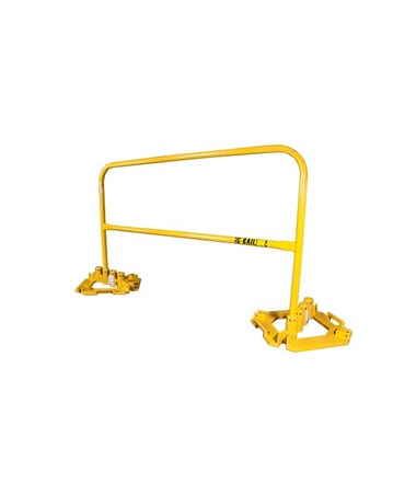 Guardian Fall Protection Multi-Directional Base Plate and Guardrail Kit