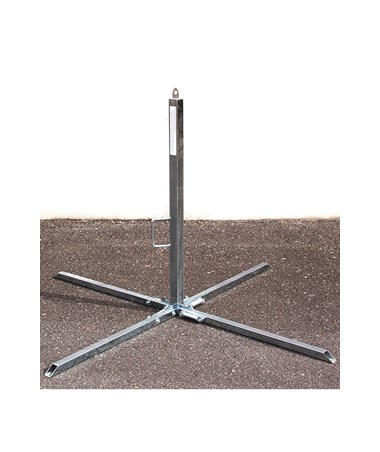"Guardian Fall Protection 39"" Goose Warning Line Stanchion"