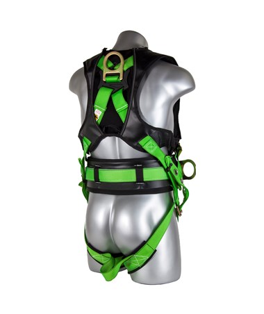 Guardian Fall Protection Monster Premium Edge Harness GUA193190- back