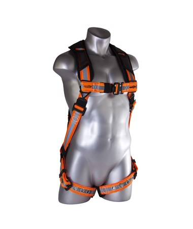 Guardian Fall Protection Reflective Cyclone Harness GUA21056- front
