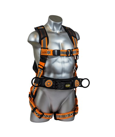 Guardian Fall Protection Reflective Cyclone Construction Harness GUA21060- front