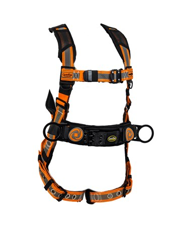 Guardian Fall Protection Reflective Cyclone Construction Harness