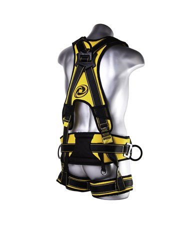 Guardian Fall Protection Cyclone Tower Construction Harness GUA21082- back