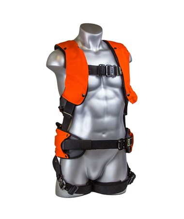 Guardian Fall Protection Flame Retardant Premium Edge Construction Harness GUA281080- front