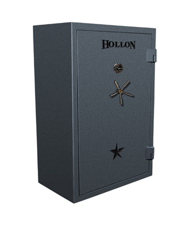 Hollon 39-Gun Republic Series Gun Safe with Black Trim 2HOUR-RG-39