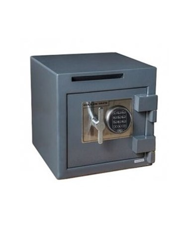 "Hollon B-Rated 14"" Cash Safe with Drop Slot - UL Listed Type 1 S&G Spartan Electronic Lock B1414SE"