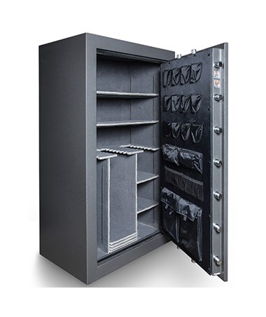 Hollon Black Hawk Series Gun Safe - BHS-45E Interior
