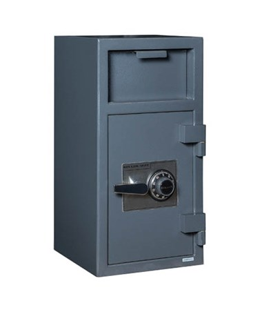 Hollon B-Rated Front Loading Depository Safe with Shelf and Group 2 Dial Lock FD-2714C