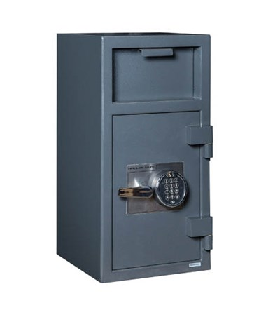 Hollon B-Rated Front Loading Depository Safe with Shelf and S&G Electronic Lock FD-2714E