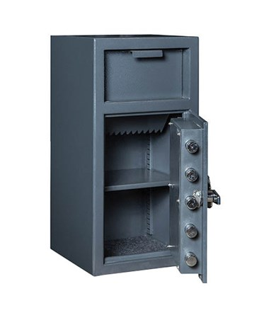 Hollon B-Rated Front Loading Depository Safe with Shelf