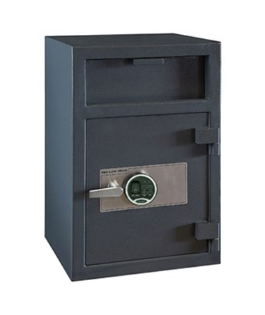 Hollon 30 x 20 Depository Safe with Inner Locking Compartment Drawer and Biometric Lock FD-3020EILK-BIO
