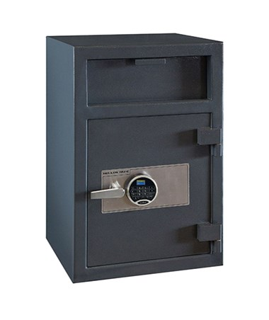 Hollon 30 x 20 Depository Safe with Inner Locking Compartment Drawer and SecuRam Prologic L22 Electronic Lock FD-3020EILK-PRL