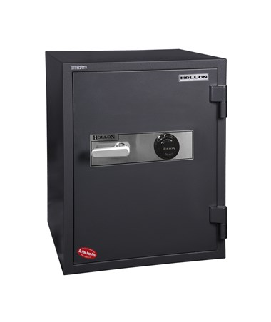 "Hollon 20 3/4""W x 20""D x 29 1/2""H 1Hour Fireproof Data or Media Safe with 2 Shelves & Dial Lock HDS-750C"