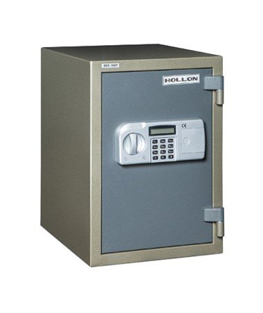 Hollon 0.23 Cu Ft 1 Hour Fireproof Data and Media Safe HOLHDS-500E