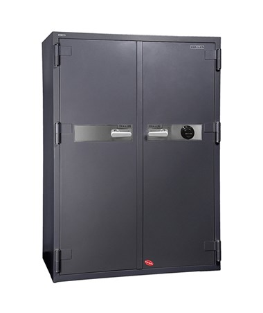 Hollon 2-Hour Fireproof Office Safe with Two Doors - S&G Dial Lock HS-1750C
