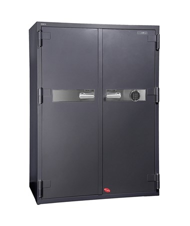 Hollon 2-Hour Fireproof Office Safe with Two Doors - S&G Electronic Lock HS-1750E