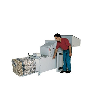 Intimus 14.87 Series Large Capacity Industrial Shredder w/ Baler INT699921-