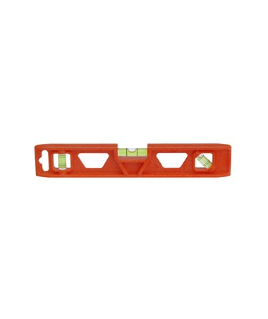 "Johnson 9"" Orange Structo-Cast Torpedo Level w/ Tapered Ends 1402-0900"