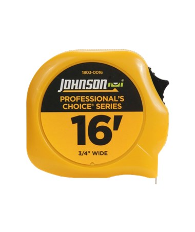 Johnson Level Professional's Choice Power Tape JOH1803-0016-