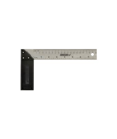 Johnson Level Inch/Metric Structo-Cast Try & Mitre Square JOH1910-0800-
