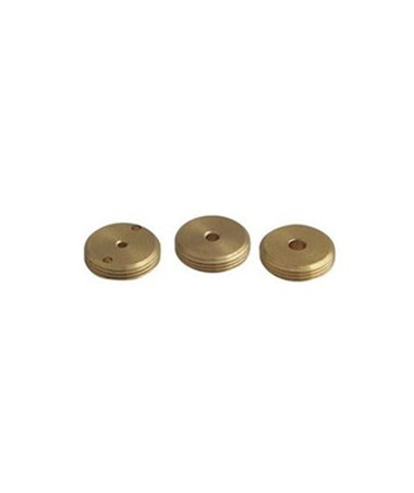 Johnson Solid Brass Aperture Pack for Point Lasers JOH40-6226